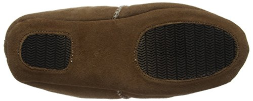 Fellhof 492 Lambskin Slippers for Men and Women Aladdin Chestnut Brown - Chestnut d7hLz