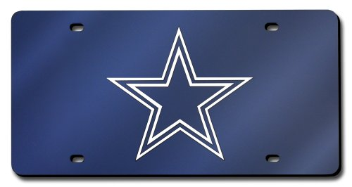 Rico Industries NFL Color Laser Cut Auto Tag