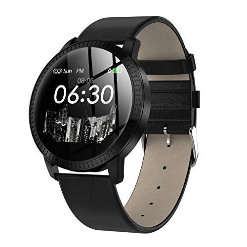 Hanguang Smartwatch Fitness Sportuhr Damen Herren Wasserdicht Temperatur Armband Elektrokardiogramm Manschette Blutdruck…