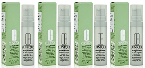 Clinique Sculptwear Lift and Contour Serum for Face and Neck 8ml x 4 bottles ( sample size -