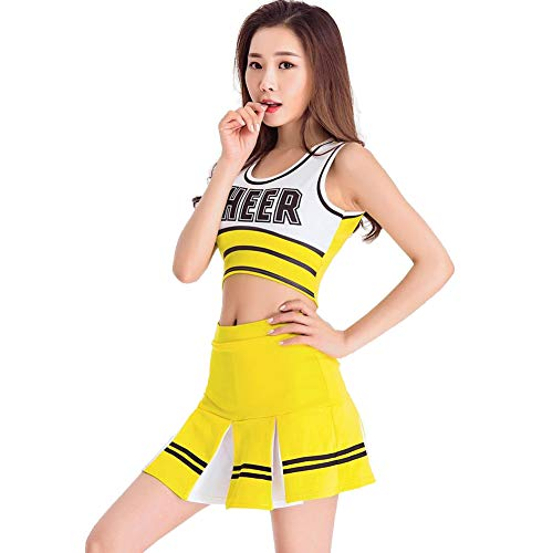 Women's School Girls Musical Party Halloween Cheerleader