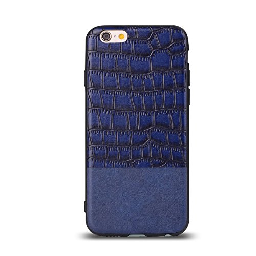 """HYAIT® For IPHONE 6 4.7"""" Case[Crocodile][Shockproof] Dual Layer Hybrid Armor Rugged Plastic Hard Shell Flexible TPU Bumper Protective Cover-BAN01"""