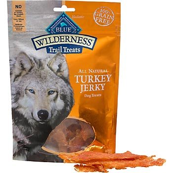 Blue Buffalo Wilderness Turkey Dog Jerky Treats, My Pet Supplies