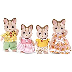 Calico Critters Sandy Cat Family Doll