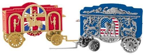 K-line Trains 6-22411 Tableau Circus Wagon Set