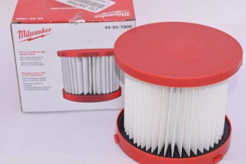 Milwaukee 49-90-1900 HEPA Filter for Wet/Dry VAC ()