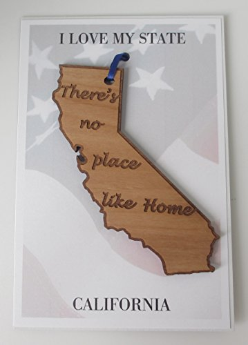 California State Ornament There's No Place Like Home ()