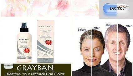 Grayban - Tinte para canas (tono natural): Amazon.es: Belleza
