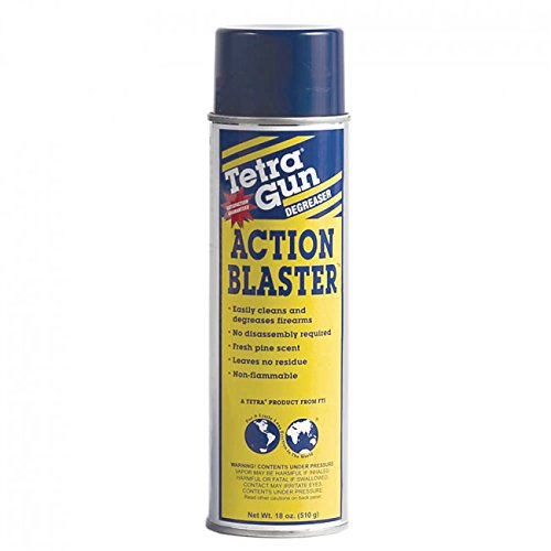 3 Pack of Action Blaster Synthetic-Safe Cleaner 10oz Aerosol Cans by Tetra Gun Care