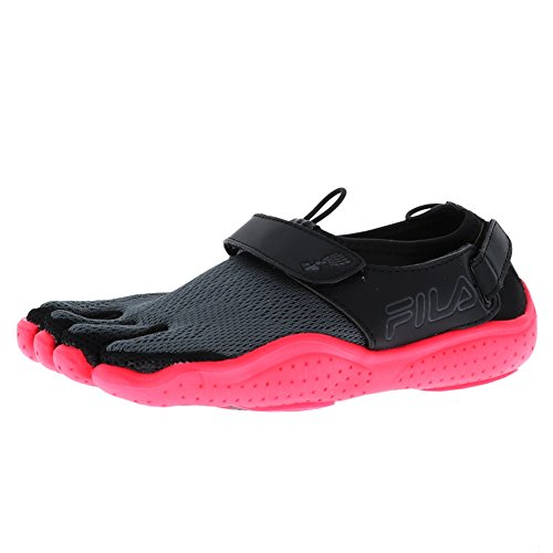 Fila Ex-Slide 18 Engineered Black/Diva Pink/Castlerock Womens Running Size 8M