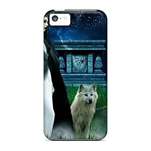 Iphone 5c Case, Premium Protective Case With Awesome Look - Beneath A Full Moon