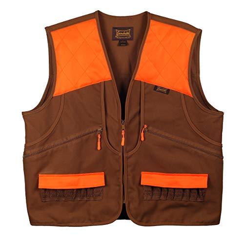 (Gamehide Switchgrass Upland Field Bird Vest (Marsh Brown/Orange, Large))