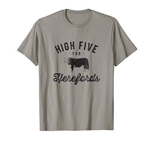 Beef Cow Farmer Tshirt Hereford Cattle Vintage Look Cow Tee