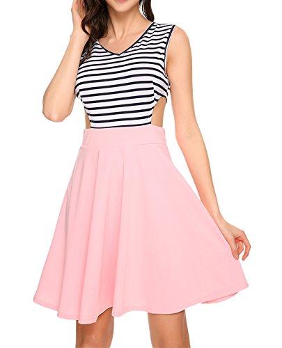 Buy beautiful short pink dress - 3