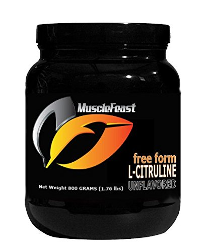 Pure Citrulline by Muscle Feast - 800 Grams (1.76lbs)