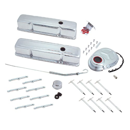 Spectre Performance 5404 Chrome Deluxe Dress Up Kit for Small Block Chevy