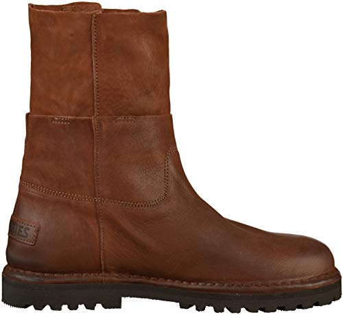 brown Marron Shabbies 3238 Motardes Amsterdam Bottes Shs0288 Femme CxqwZgY