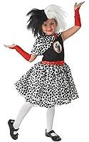 Cruella De Ville Costume - Kids - Large