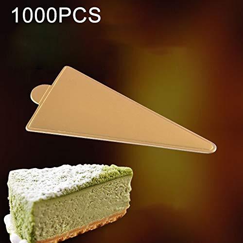 WEIHONG Molde 1000 UNIDS Pequeño Triángulo Torta de Cartón ...