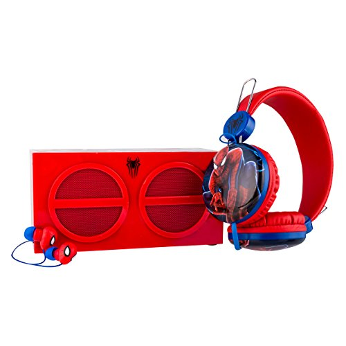 Spiderman SH1-01346 3-in-1 Stereo Pack Earphones