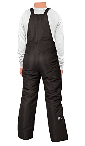 Large Product Image of Arctix Youth Insulated Overalls Bib, Medium, Black