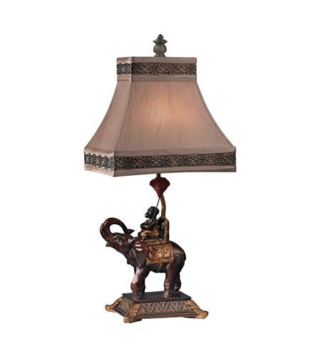 Table Lamps 1 Light With Brasilia Bronze Finish Resin Material Medium Base Bulb Type 24 inch 60 (Brasilia Table)