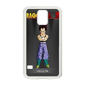 Vegeta Dragon Ball Z Anime0 Samsung Galaxy S5 Cell Phone Case White Gift pjz003_3239418