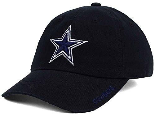 NFL Dallas Cowboys Mens Basic Slouch Cap, OSAFA, Black