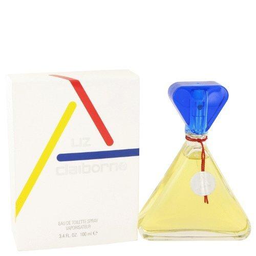 - Līz Claibōrne Claibōrne For Women 3.4 oz Eau De Toilette Spray (Glass Bottle)