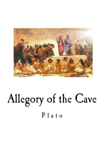 comparing the allegory of the cave Objects inside the cave is compared and contrasted with the natural obj the  visible outside  discussion by saying that the allegory is not framed to exhibit  how.