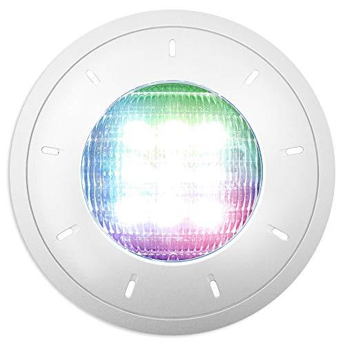 Proyector LED piscina extraplat 36 W RGBW 1300 lm: Amazon.es: Jardín