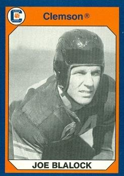 Autograph Warehouse 96906 Joe Blalock Football Card Clemson 1990 Collegiate Collection No. 170