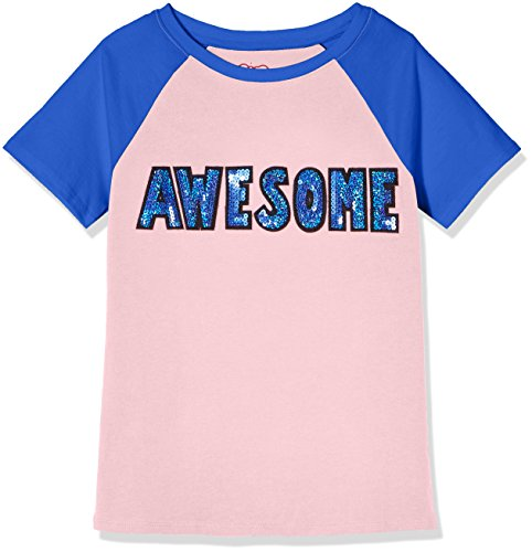 A for Awesome Short Sleeve Stand Neck Casual Shirt Medium Orchid Pink (Stands Fashion T-shirt)