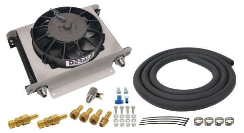 (Derale 15960 Hyper-Cool Remote Engine/Transmission Cooler )