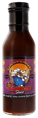 (Texas Rib Rangers Spicy BBQ Sauce. 14.5 Ounce)