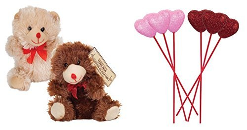 Super Cute Valentine's Day Chocolate-Scented Plush Sitting Bear 7