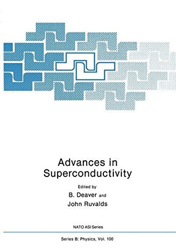 Advances in Superconductivity (Nato ASI Subseries B:) by J. Deaver (1983-09-01)