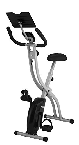 Innova XB350 Folding Upright Bike with iPad/Android Tablet Holder