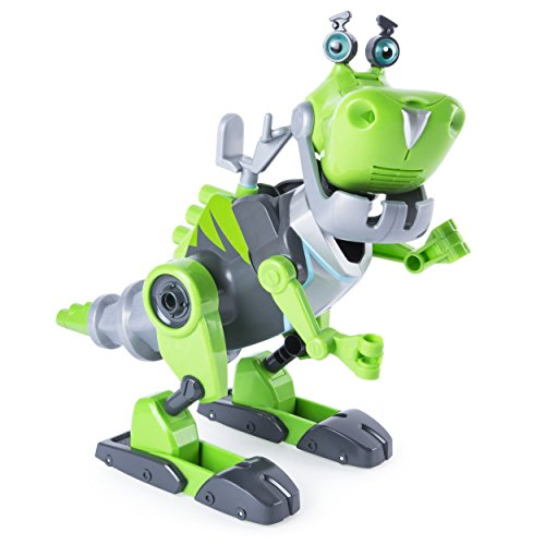 Rusty Rivets - Botasaur Buildable Figure with Lights and Sounds for Ages 3 and Up