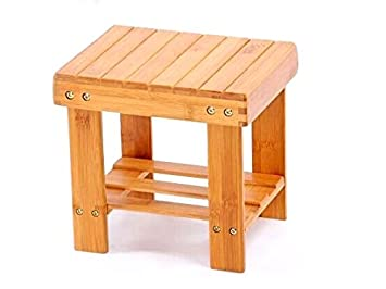 NOVICZ Small Size Wooden Chair Stool Kids Furniture (Height 26 Cm)  sc 1 st  Amazon.in : wooden stool for kids - islam-shia.org