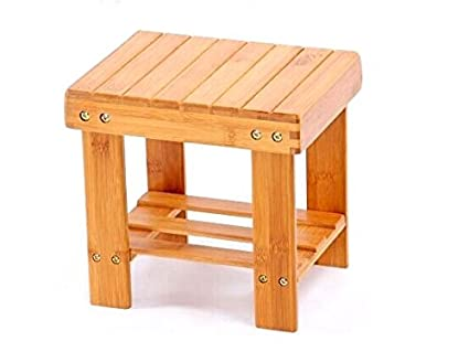 Beau NOVICZ Small Size Wooden Chair Stool Kids Furniture (Height 26 Cm)
