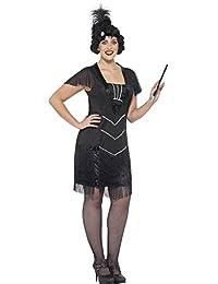Smiffy's Women's Plus Size 1920's Flapper Costume