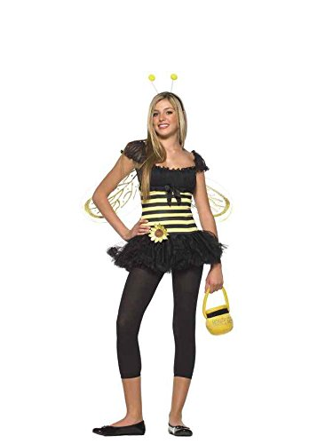 UHC Cute Sunflower Bumble Be Teen Honey Bumble Bug Fancy Dress Girl's Costume, Teen M/L (8-14) for $<!--$13.50-->