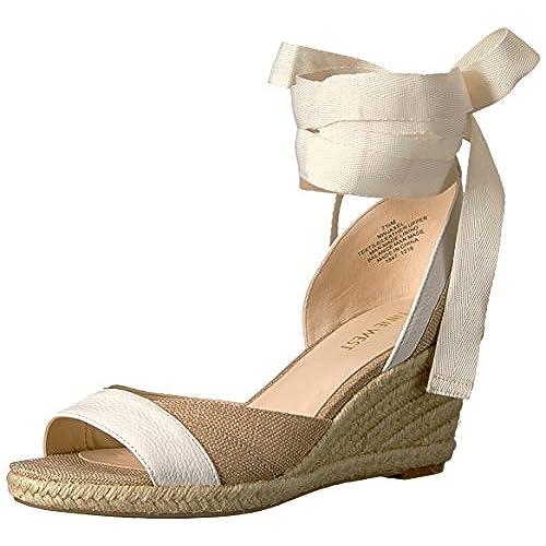 06ce9c759 50%OFF Nine West Women s Jaxel Fabric Wedge Sandal - tehnosmart.co.rs