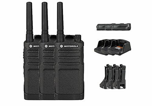 3 Pack of Motorola RMU2040 Business Two-Way Radio 2 Watts/4 Channels Military Spec 20 Floor Range by Motorola