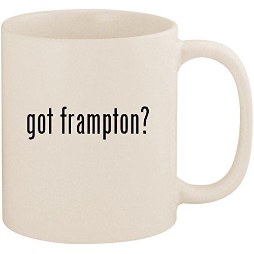 (got frampton? - 11oz Ceramic White Coffee Mug Cup, White)