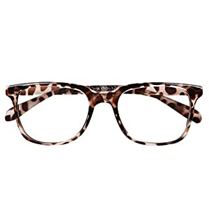Bi Tao Transition Lens Photochromic Brown Reading Glasses 2.00 Strengths Men Women fashion Reading Eyeglasses