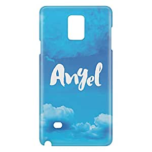 Loud Universe Galaxy Note 5 Angel Print 3D Wrap Around Case - Blue