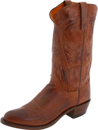 - Lucchese Men's 1883 Bart Western Boots, Tan Ranch - 10
