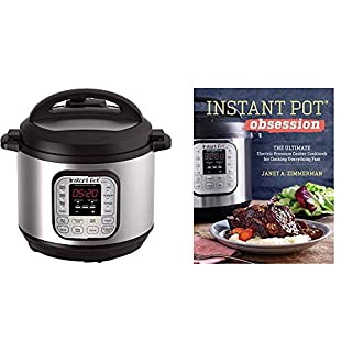 Instant Pot Duo 7-in-1 Multi-Use Programmable Pressure Cooker (8 Quart) and Cooking Fast Cookbook (B07KR5RFDN) | Amazon price tracker / tracking, Amazon price history charts, Amazon price watches, Amazon price drop alerts